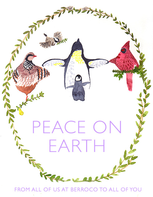 PEACE ON EARTH - From all of us at Berroco to all of you