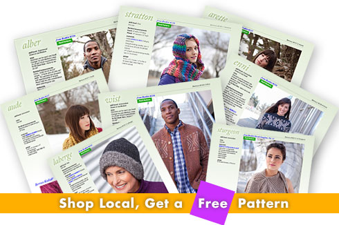 Shop Local, Get a Free Pattern