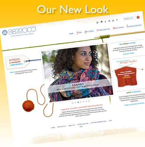 New Berroco Website