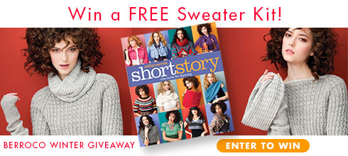 Berroco Winter Giveaway - Win a Free Sweater Kit!