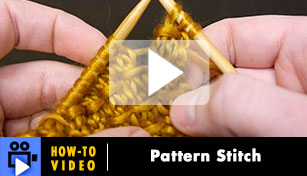 Hoe-to-Video: Pattern Stitch - Barnes
