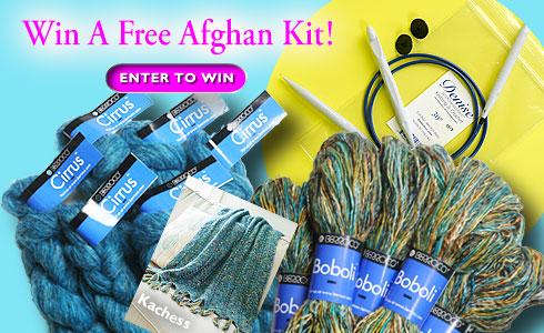 Win A Free Afghan Kit! Berroco 2013 Spring Giveaway