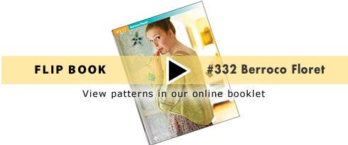FlipBook - Booklet #332 Berroco Floret