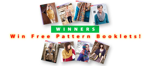 Facebook - Winners, Free Pattern Booklets