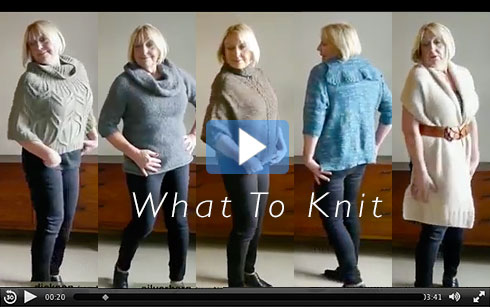 What To Knit video