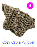 Minutia '13 - 4. Cozy Cable Pullover