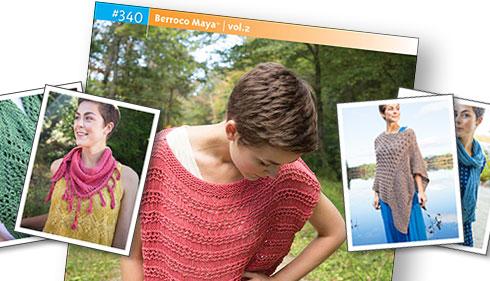 Booklet #340, Berroco Maya™ | vol. 2, Berroco Boboli® & Berroco Lodge®