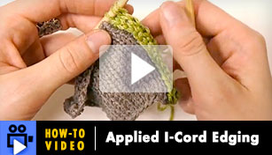 Hoe-to-Video: Applied I-Cord Edging
