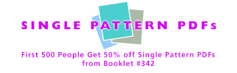 Single Pattern PDFs - Booklet #342