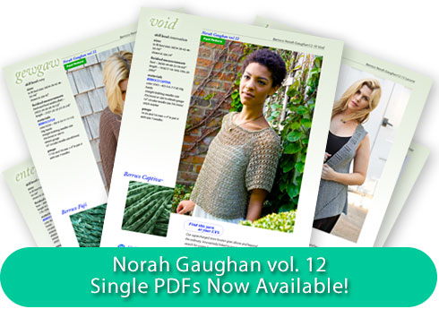 Norah Gaughan vol.12 - Single PDFs Now Available!