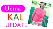 Udina Knit-Along Update