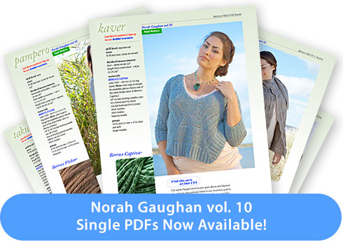 Norah Gaughan vol.10 - Single PDFs Now Available!