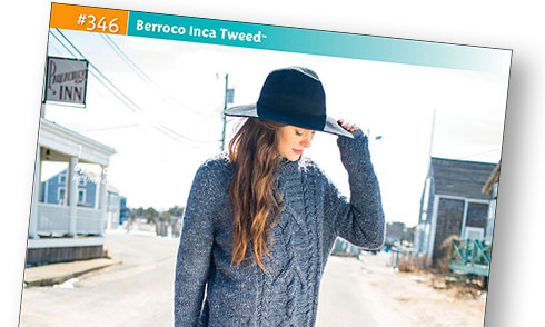 Booklet #346 - Berroco Inca Tweed
