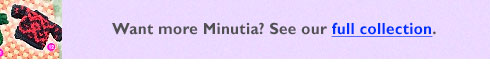 Check out Minutia patterns.