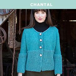 Chantal, knit in Berroco Ultra® Alpaca & Ultra® Alpaca Light