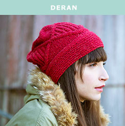 Deran, knit in Berroco Remix®