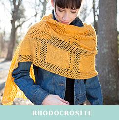 Rhodocrosite, knit in Berroco Folio™