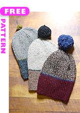 Family Hats, free pattern