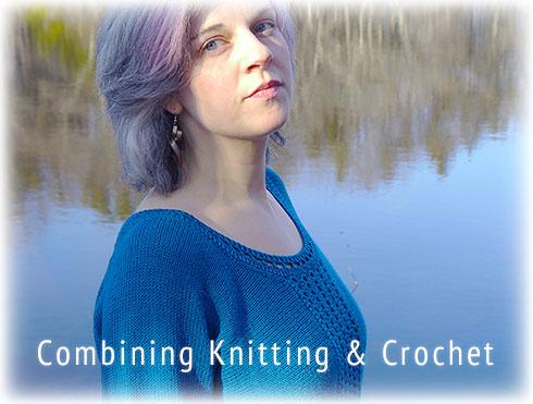 Combining Knitting & Crochet - Leocadia, Free Pattern
