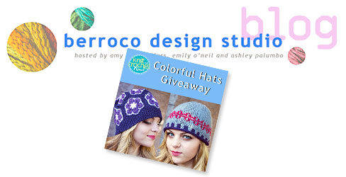 Want to win the yarn for one of these colorful hats? Enter our giveaway on the blog!