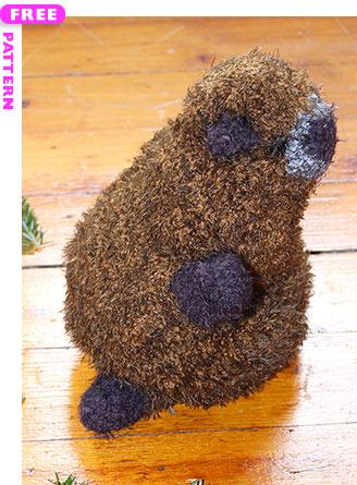 Marmie the Marmot, free pattern
