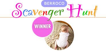 Berroco Scavenger Hunt - Winner