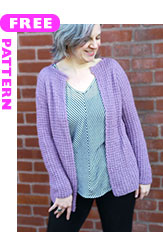Ametrine, free pattern