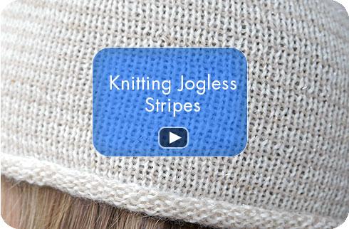 How To Video - Knitting Jogless Stripes