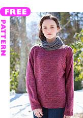 Aroostook, free pattern