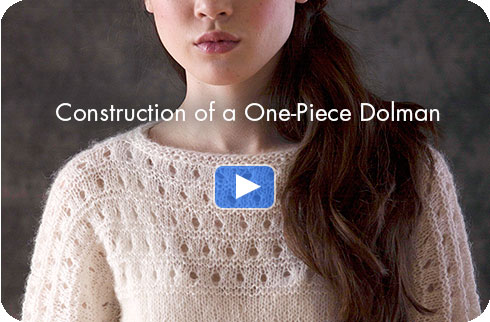 How-to Video - Construction of a One-Piece Dolman