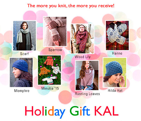 Holiday Gift KAL - The more you knit, the more you receive!