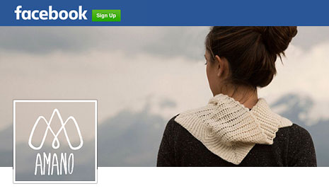 AMANO Yarns on Facebook