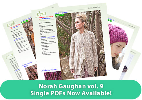 Norah Gaughan vol. 9, Single PDFs