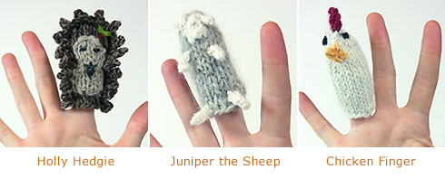 Finger Puppets, Free Pattern