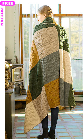 Norah's Vintage Afghan, free pattern