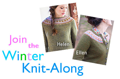 Join the Winter Knit-Along - Helen and Ellen