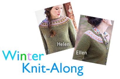 Winter Knit-Along - Helen and Ellen