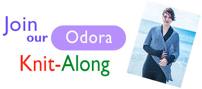 Join our Odora Knit-Along