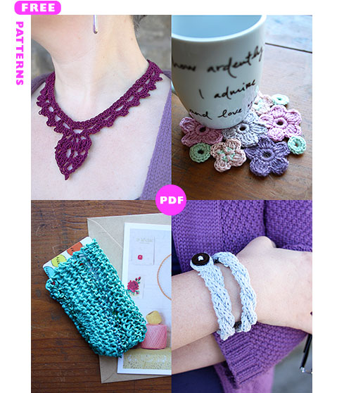 Mother's Day 2016 - 4 free patterns