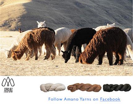 Follow Amano Yarns on Facebook.
