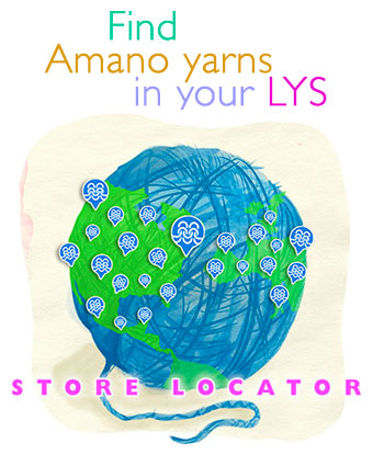 Find Amano yarns in your LYS.
