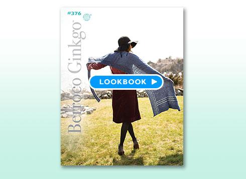 Lookbook - Booklet #376 Berroco Ginkgo™
